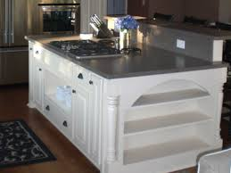 kitchen island stove kitchen islands with stove and seating smith design amazing
