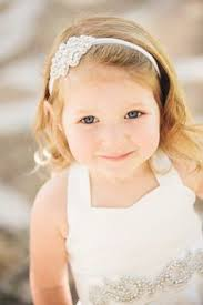 flower girl headbands flower girl hairstyles with headband hair is our crown
