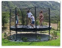Best Backyard Trampoline by In Ground Trampoline In Ground Trampoline Installation Jumpsport