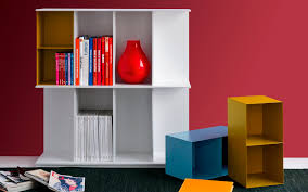low bookcase contemporary for offices mdf division by