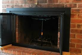 black fireplace doors tech x direct product blog glass doors for