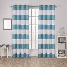 Teal And White Curtains Teal And White Curtains