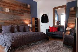 Awesome Bedrooms With Reclaimed Wood Walls - Bedroom furniture types