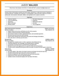 staff assistant resume administrative assistant resume sample