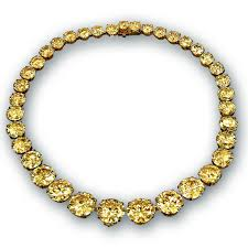 yellow diamonds necklace images Yellow diamond riviera necklace jacob co timepieces fine png