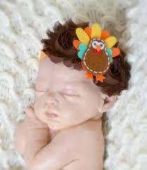 baby turkey thanksgiving thanksgiving baby turkey feathered shabby chic flower headband foe