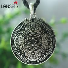 aliexpress pendant necklace images Lanseis 1pcs norse dragon jewelry runic cloak pin viking charm jpg