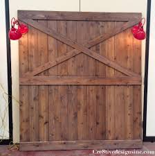 How To Make Your Own Barn Door by Diy Barn Door Headboard Cre8tive Designs Inc