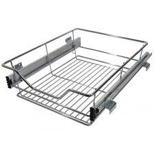 Kitchen Cabinets Baskets Out Wire Larder Basket Set For 300mm Kitchen Cabinets