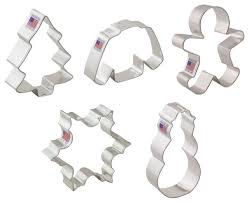 christmas cookie cutter set contemporary cookie cutters by