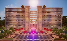 minecraft cinematic huge luxury hotel hd download youtube