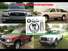 2006 toyota tacoma fuel mobile mechanic tips of the week 16 2003 toyota tacoma fuel