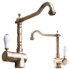 rubinetto lavandino cucina miscelatore cucina antico mix bocca girevole