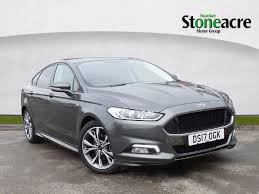 used 2017 ford mondeo 2 0 tdci st line hatchback 5dr diesel manual