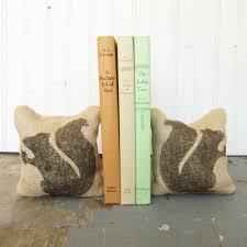 squirrel burlap petit feed sack pillow pair unique paper