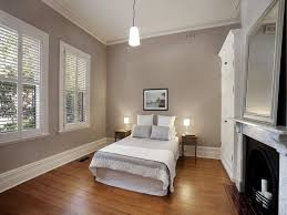 Windows Robes Modern Bedroom Design Idea With Wood Panelling - Colour ideas for bedroom