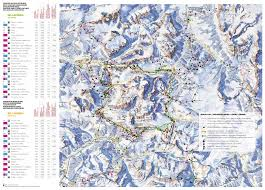 Piste Maps For Italian Ski by Sella Ronda Ski Trail Map Free Download