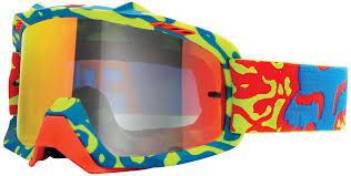 goggles motocross fox reviews online fox air space cauz clear goggle kids goggles motocross yellow red