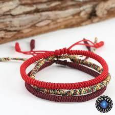 bracelet lucky you images Lucky handmade buddhist knots rope bracelet project yourself jpg