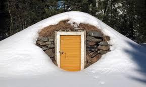 file root cellar entrance in winter jpg wikimedia commons