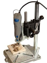 milescraft 1097 tool stand drill press for rotary tools power