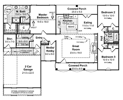 different house plans edina ranch home plan 077d 0043 house plans and more
