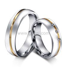 titanium wedding rings for men engraved titanium engagement rings set for men and women