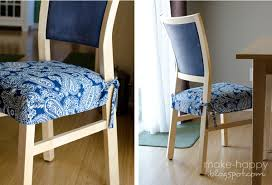 dining chair seat covers dining chair seat covers with ties gallery dining