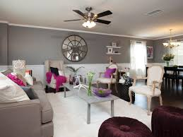 Hgtv Livingrooms Hgtv Gray Living Rooms After Duplex Living Room Grey Sectional