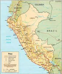 lima map maps road plans of lima map route map