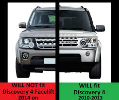 custom land rover lr3 chrome black front grille upgrade kit for land rover discovery 4