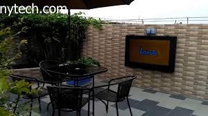 outdoor tv cabinet weatherproof waterproof tv case outdoor tv
