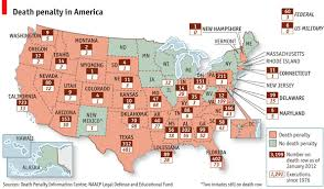 map usa penalty states with the penalty our friends in prison