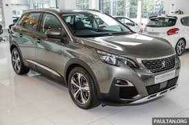 peugeot suv 2014 2017 peugeot 3008 launched in malaysia 1 6l turbo engine two