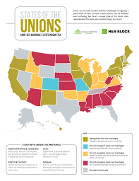 State Income Tax Map by Why Same Couples Need A Good Accountant More Than Ever Money