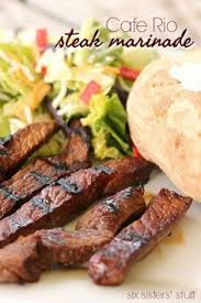 cafe rio steak marinade recipe food and drink pinterest steak