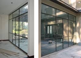 metal glass doors custom stainless steel u0026 glass doors