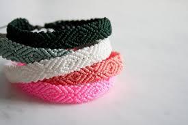 diamonds friendship bracelet images Monochrome friendship bracelets purl soho jpg