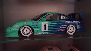 porsche falken diecast porsche 911 996 gt3 super taikyu modelcar autoart 1 18