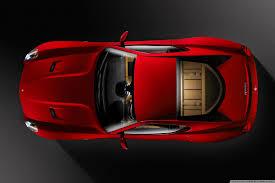 ferrari 599 top view hd desktop wallpaper widescreen high