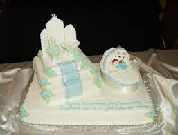 How To Decorate Christening Cake Christening Decorations Boy Boy Baptism Centerpieces Catholic