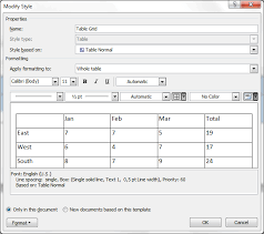 Change Table Style Word Spell Check How To Change Language In Ms Word Table Style
