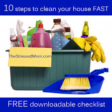how to clean house fast 10 steps to clean your house fast http thestressedmom com the