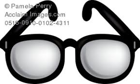 glasses clipart horned eye glasses clipart