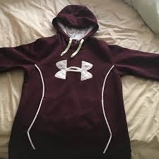 33 off under armour tops brand new maroon under armour hoodie