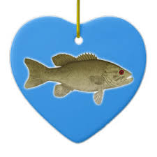 small bass ornaments keepsake ornaments zazzle