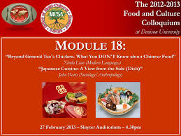 module cuisine learning through food fcc food and eastern