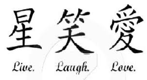 kanji for live laugh ideas tattoomagz