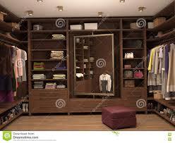 dressing room interior of a modern house stock illustration