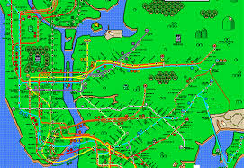 mta map subway these mario nyc subway maps will almost you forget how